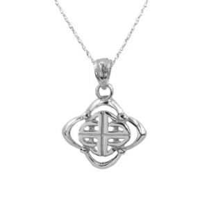 Celtic Knotwork Silver Pendant 9213